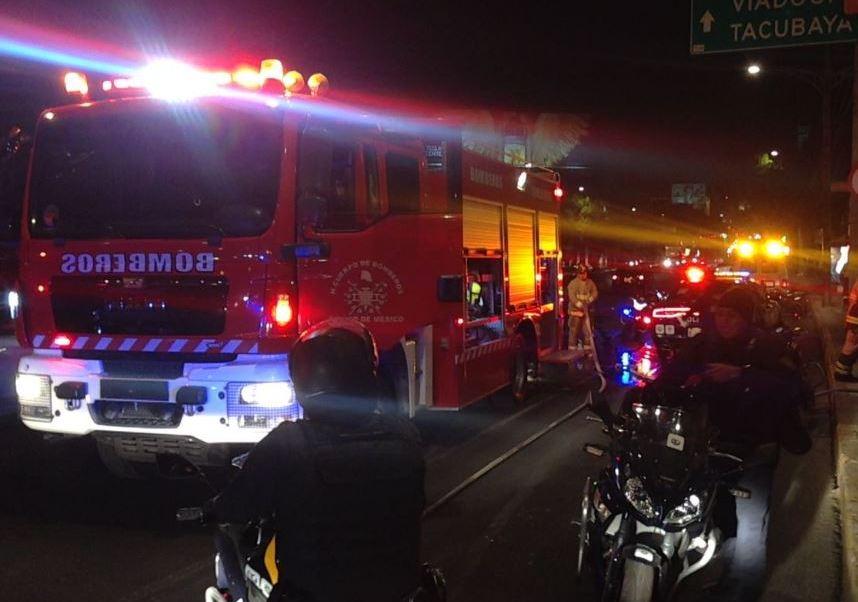 El cuerpo de bomberos de la CDMX atendió una fuga de gas que se registro en Av. Paseo de la Reforma Twitter/@Raul_Esquivel_C/Archivo