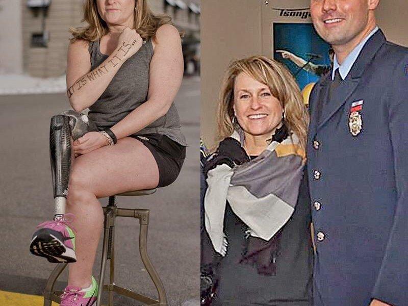 Roseann Sdoia y Mike Materia anuncian su boda; se conocieron durante el atentado contra la maratón de Boston. (@CAFoundation)
