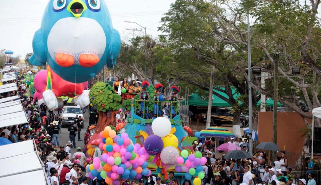 Carnaval de Mérida, Yucatán, una muestra regional. (Notimex)