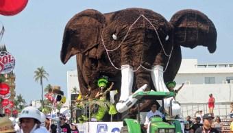 El Segundo Gran Desfile de Carros Alegóricos del Carnaval de Veracruz 2017