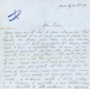'Europeana' realiza el esfuerzo de conservar cartas de amor escritas durante la Primera Guerra Mundial(Foto transcribathon.com)
