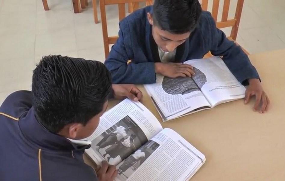 Casa del Niño Indígena en Hidalgo apoya a los menores en sus estudios (Twitter CDI_mx)