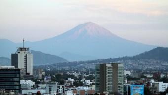 Panorámica de la Ciudad de México; prevén una temperatura máxima de 27 grados centígrados. (Notimex)