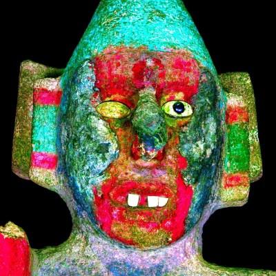 Estudio descubre a deidad del pulque en escultura de Coyolxauhqui