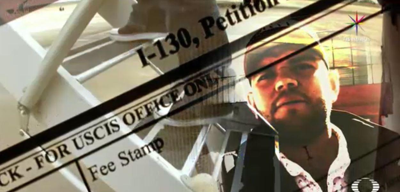 Deportación rápida de Ramón Monge desde Estados Unidos. (Noticieros Televisa)
