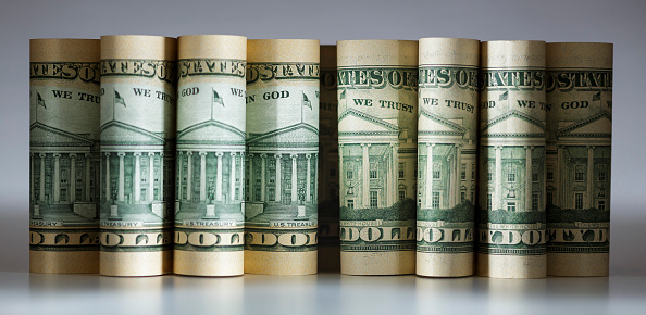 Fajos de dólares, Imagen de Getty Images