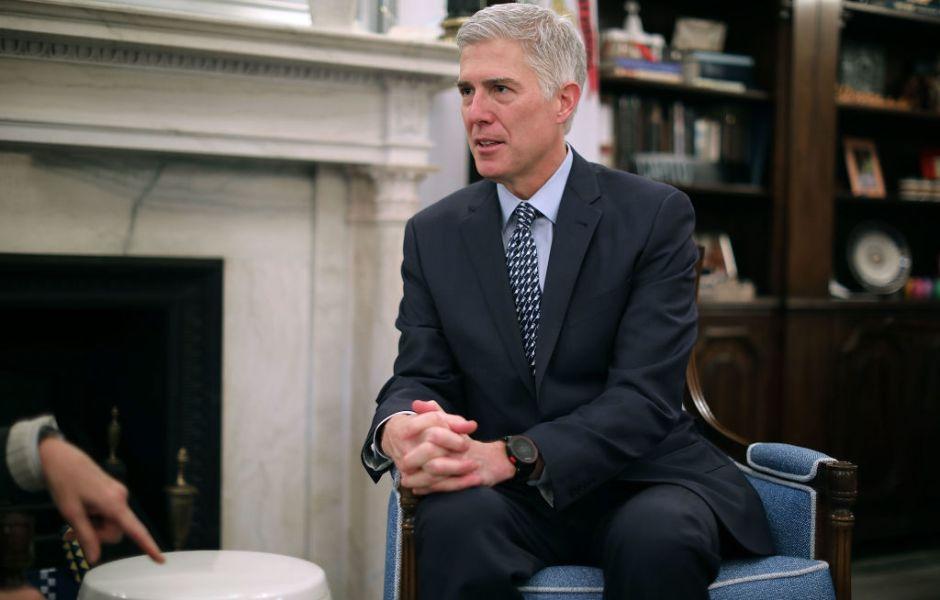 El juez Neil Gorsuch, nominado para ocupar la vacante en la Corte Suprema de Estados Unidos.