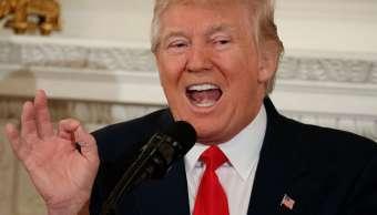 El presidente Donald Trump durante una reunión con gobernadores de Estados Unidos en la Casa Blanca.