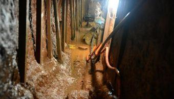 El túnel contaba con una iluminación y un sistema de ventilación.