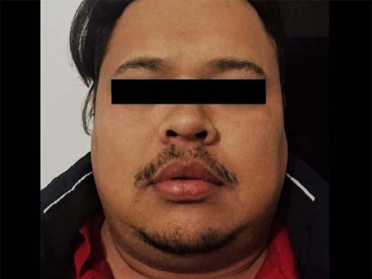 """Eleazar Palomo Castillo, alias """"el Cochi"""", detenido la semana pasada (Noticieros Televisa)"""
