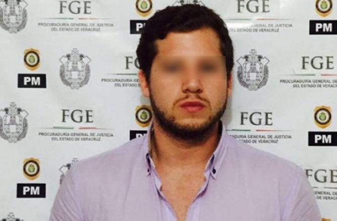 Enrique Capitaine (Fiscalía General del Estado de Veracruz)