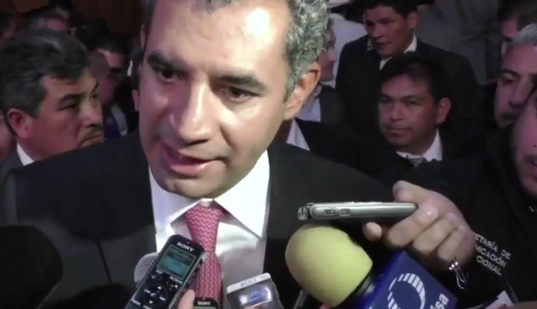 Enrique Ochoa Reza, presidente nacional del PRI.