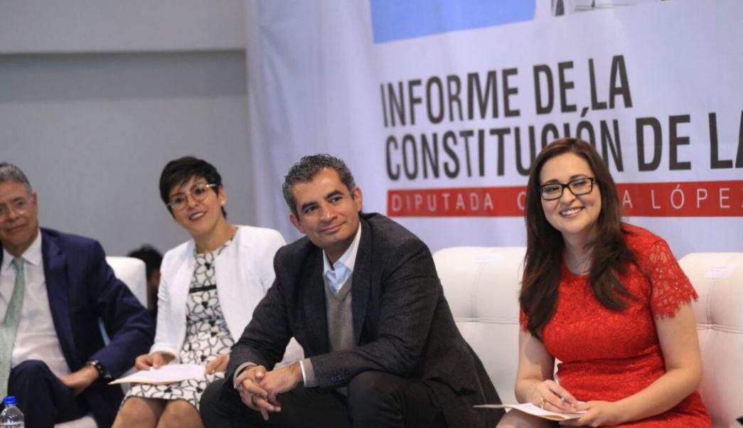 El dirigente nacional del Partido Revolucionario Institucional (PRI), Enrique Ochoa, advierte que autoridades electorales deben aclarar si hubo o no un desvío de recursos (Twitter @EnriqueOchoaR)