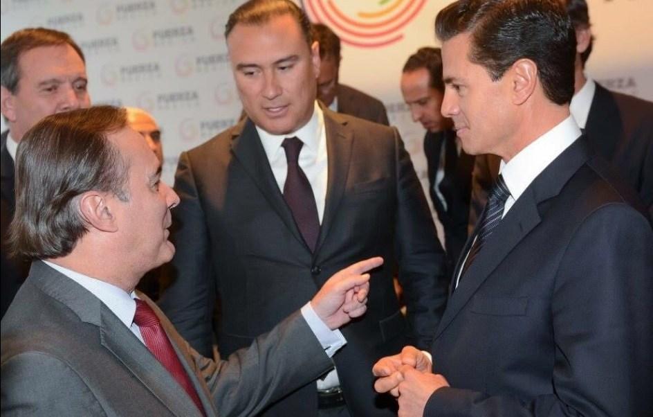 El CCE y el Consejo Mexicano de Negocios presentan 'Fuerza México' al presidente Enrique Peña Nieto; el mandatario reconoce el esfuerzo de los empresarios