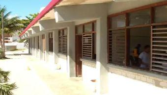Escuela pesquera de Puerto Morelos, Quintana Roo (Noticieros Televisa)
