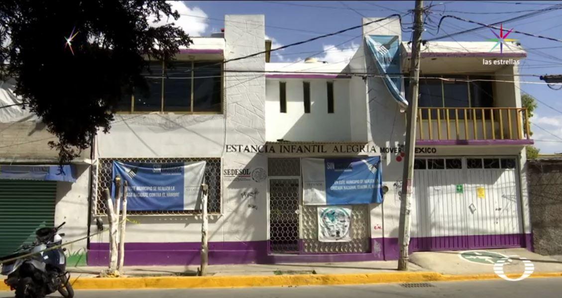 El menor de dos años de edad murió ahogado en la cisterna del inmueble. (Noticieros Televisa)
