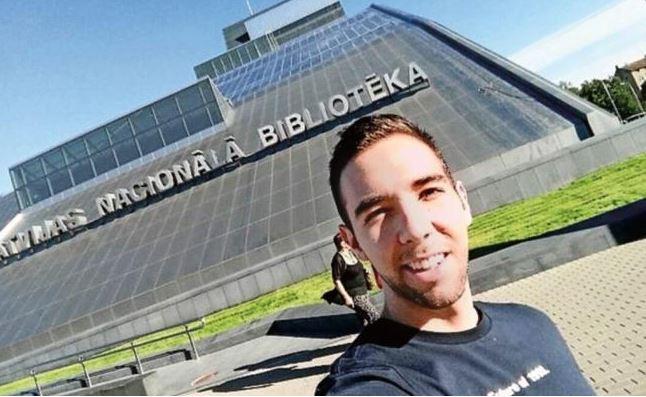 Liberan de cárcel de Letonia a estudiante mexicano Daniel Reynoso
