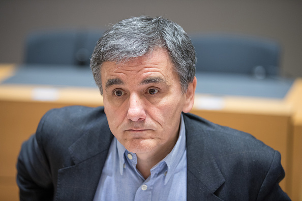Ministro griego de Finanzas, Euclides Tsakalotos (Getty Images)