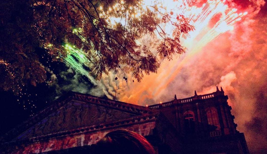 Festival de la Luz en Guadalajara (Twitter @Angeel10Juarez)