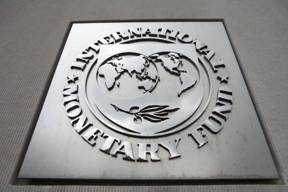 Logo del Fondo Monetario Internacional (FMI) (Getty Images)