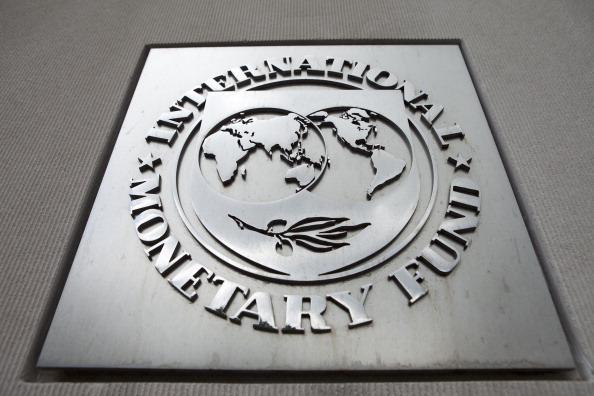 Logo del Fondo Monetario Internacional (FMI) (Getty Images)