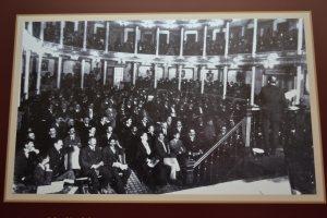 Fotografía histórica del Teatro de la República (Notimex)
