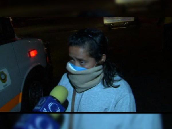 Algunas personas resultan intoxicadas por una fuga de amoniaco en una fábrica de hielos en Coyoacán (Noticieros Televisa)
