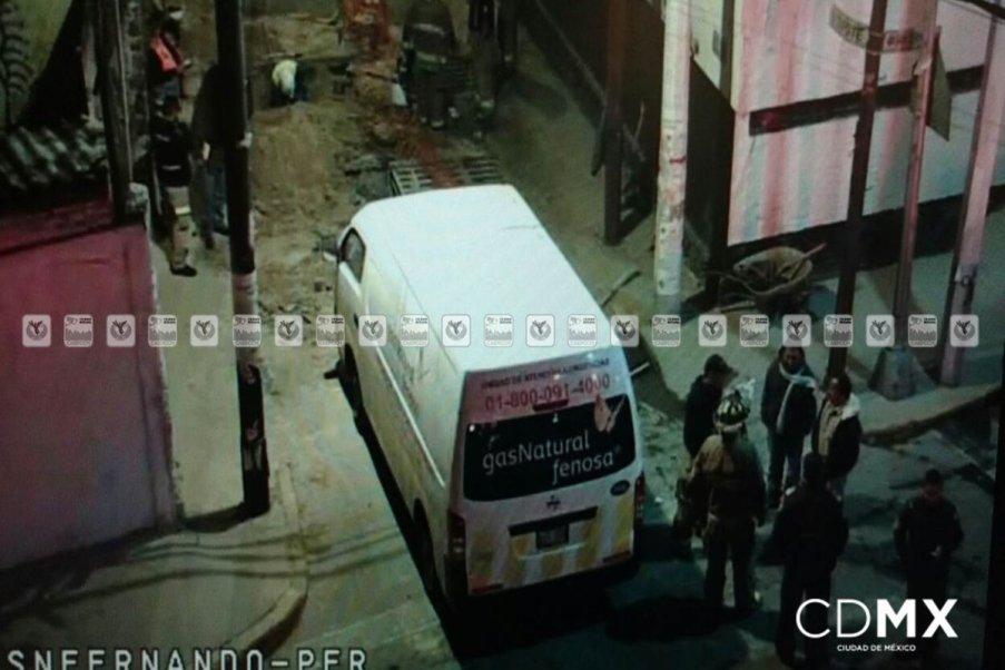 Fuga de gas en la colonia Peña Pobre, Tlalpan(Twitter @ciudad_segura)