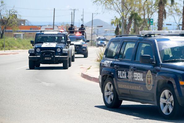 Operativo de la Gendarmería en Los Cabos, BCS