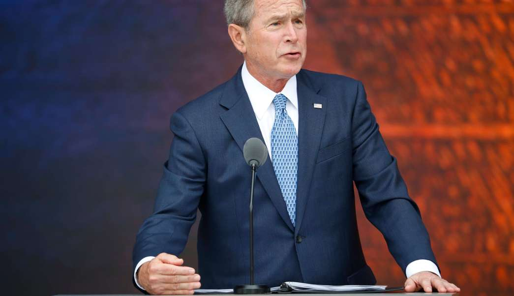 George Bush, expresidente de Estados Unidos (AP, archivo)