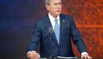 George Bush, expresidente de Estados Unidos (AP, archivo)