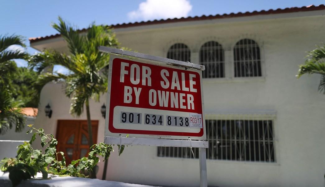 Vista de una casa en venta en Estados Unidos (Getty Images)