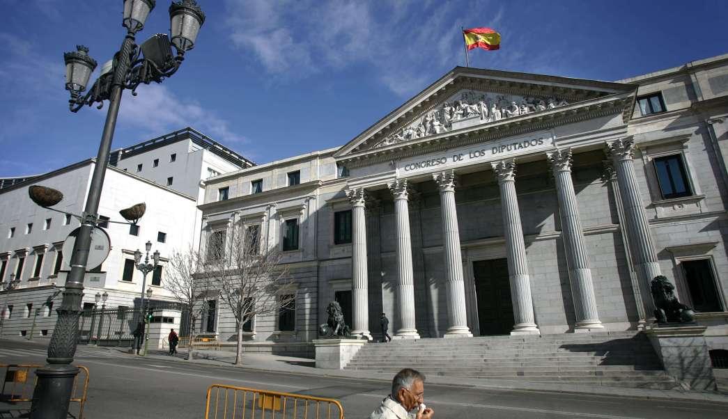 Congreso de los Diputados en España (Getty Images)