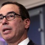 Steven Mnuchin, secretario del Tesoro de Estados Unidos (Getty Images)