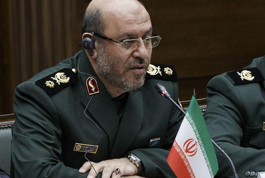 'La reciente prueba de misil está en el marco de nuestros programas', asegura el ministro de Defensa iraní.