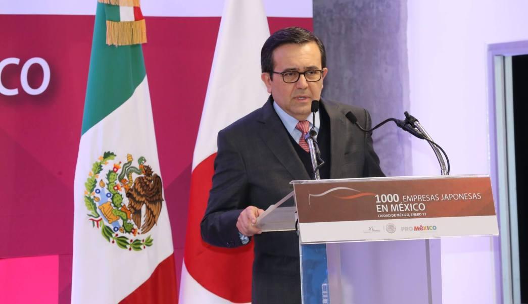 Ildefonso Guajardo, secretario de Economía.