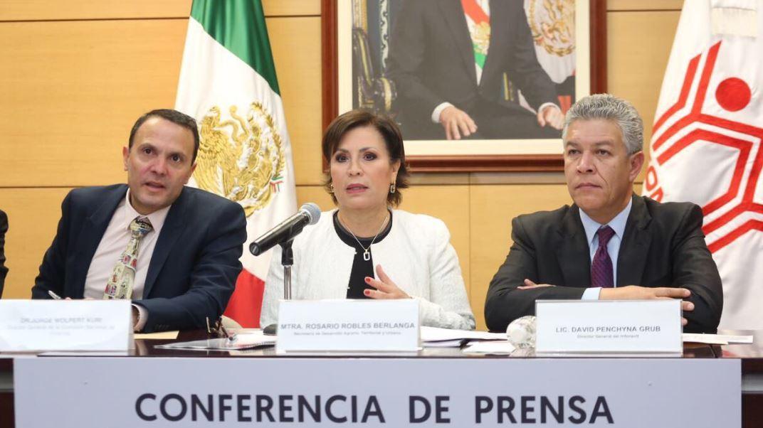 El Infonavit aseguró que las nuevas reglas de operación del programa favorecerán el otorgamiento de un subsidio a personas que ganen entre uno y 2.6 salarios mínimos (Twitter/@Rosario_Robles_)