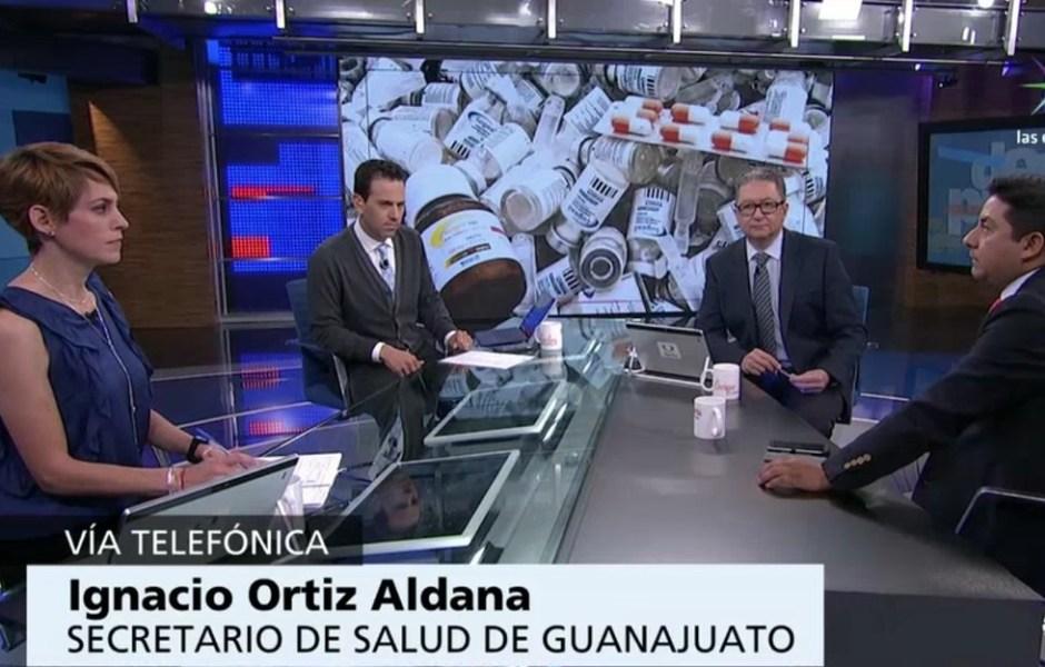 Gobierno de Guanajuato rechaza haber comprado insulina inservible, como señala un oficio (Noticieros Televisa)