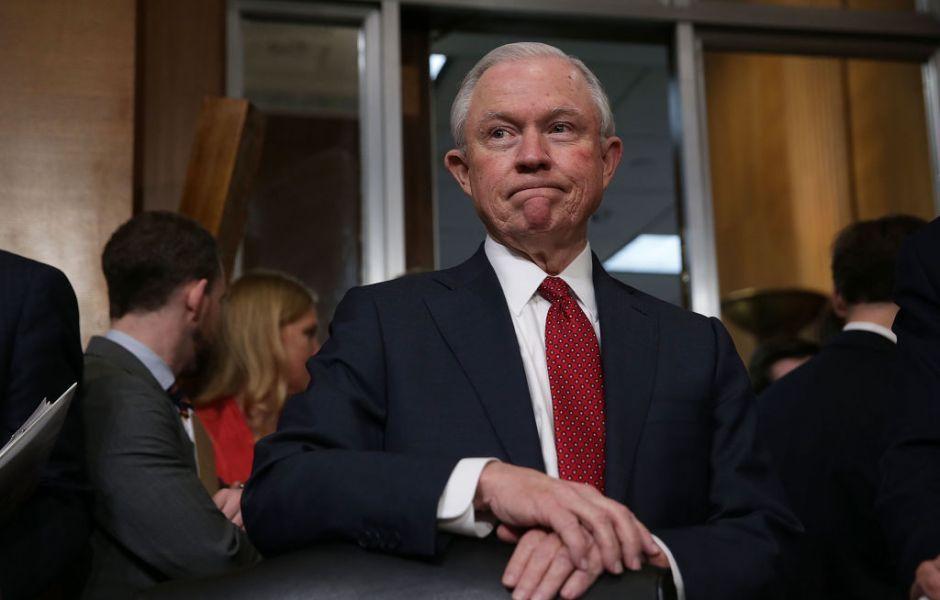 Jeff Sessions, nuevo fiscal general de Estados Unidos.