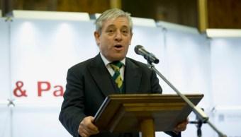 """El responsable de la Cámara baja británica, John Bercow, agrega que hay """"numeroso precedentes"""" en el Reino Unido de visitas de Estado en las que el mandatario extranjero no se ha dirigido al Parlamento (Getty Images/Archivo)"""