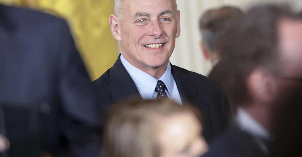 John Kelly, secretario de Seguridad Interna de Estados Unidos