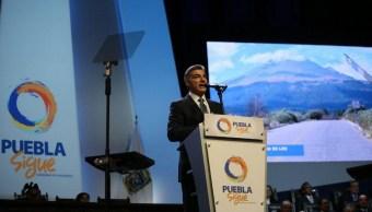 José Antonio Gali Fayad rindió protesta como gobernador de Puebla.