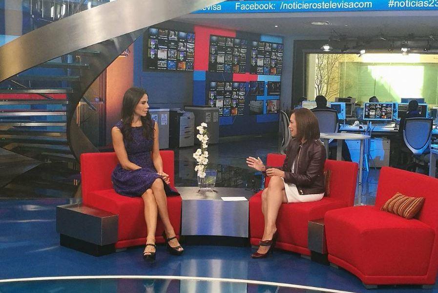 Josefina Vázquez Mota en Al Aire con Paola Rojas (Noticieros Televisa)