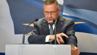 Klaus Regling, director general del Mecanismo Europeo de Estabilidad (MEDE) (Getty Images)