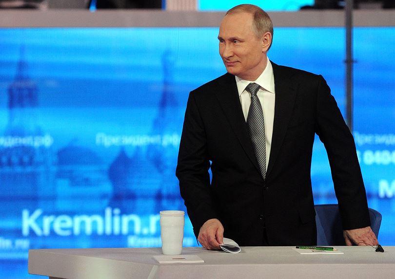 Vladimir Putin, primer mandatario ruso. (AP, archivo)