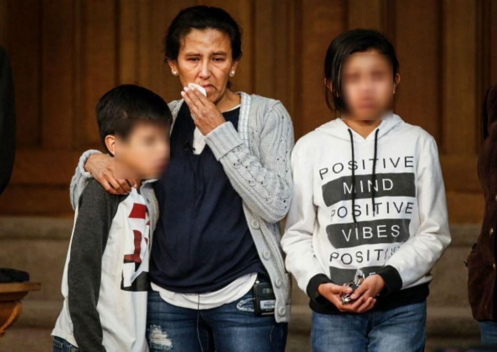La dinámica de Jeanette Vizguerra y su familia se vio afectada por el temor a la deportación. (Getty Images)