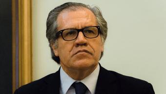 Luis Almagro, secretario general de la Organización de Estados Americanos (OEA).