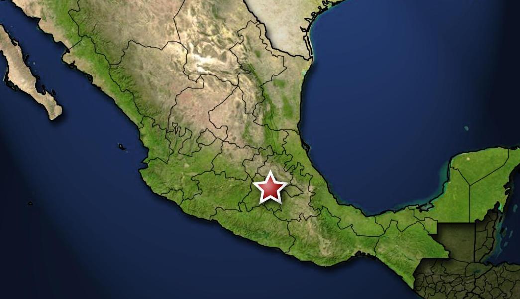 Mapa de la ciudad de México (AP, archivo)