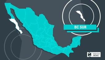 Mapa de Baja California Sur (Noticieros Televisa)