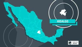 Mapa de Hidalgo (Noticieros Televisa)